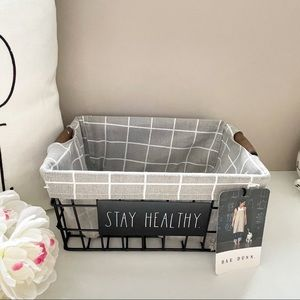 Rae Dunn storage basket